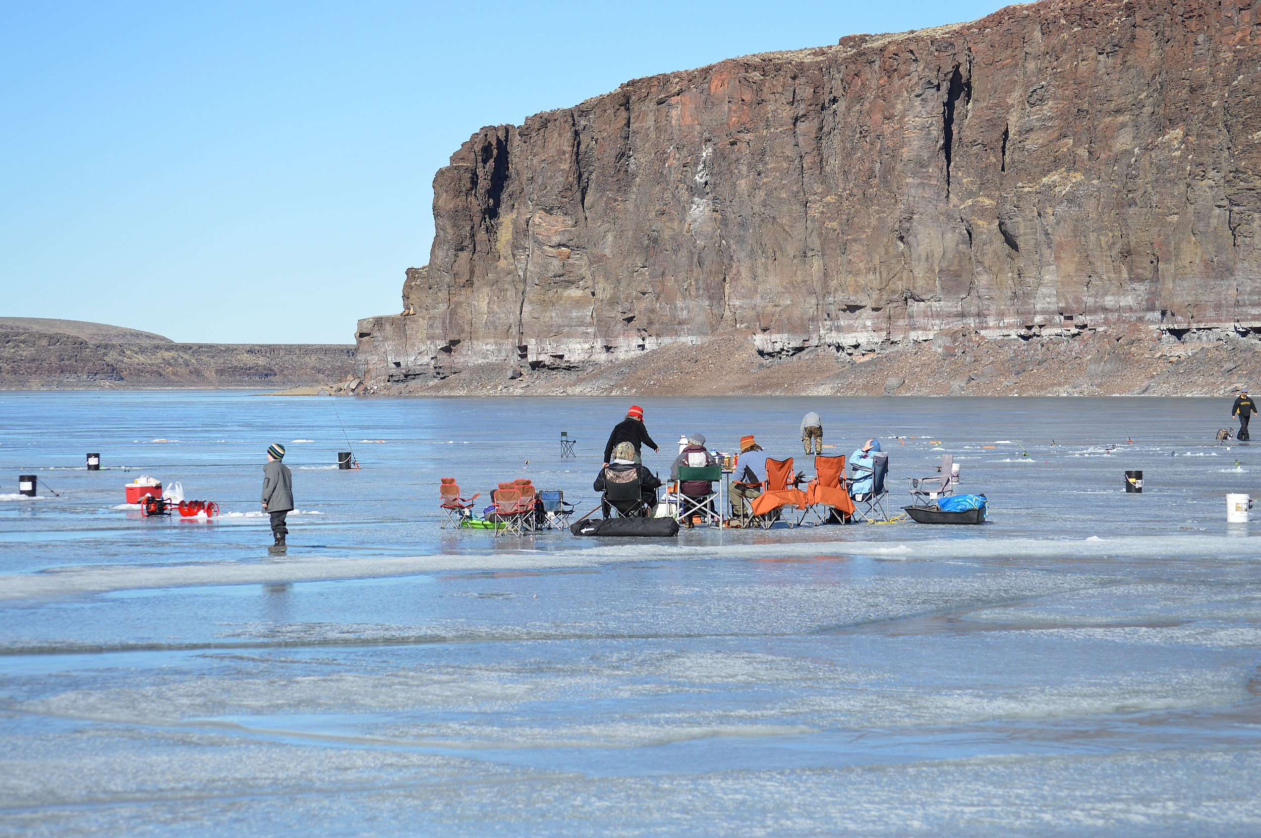 There 39 s still time for ice fishing in magic valley for Idaho ice fishing report
