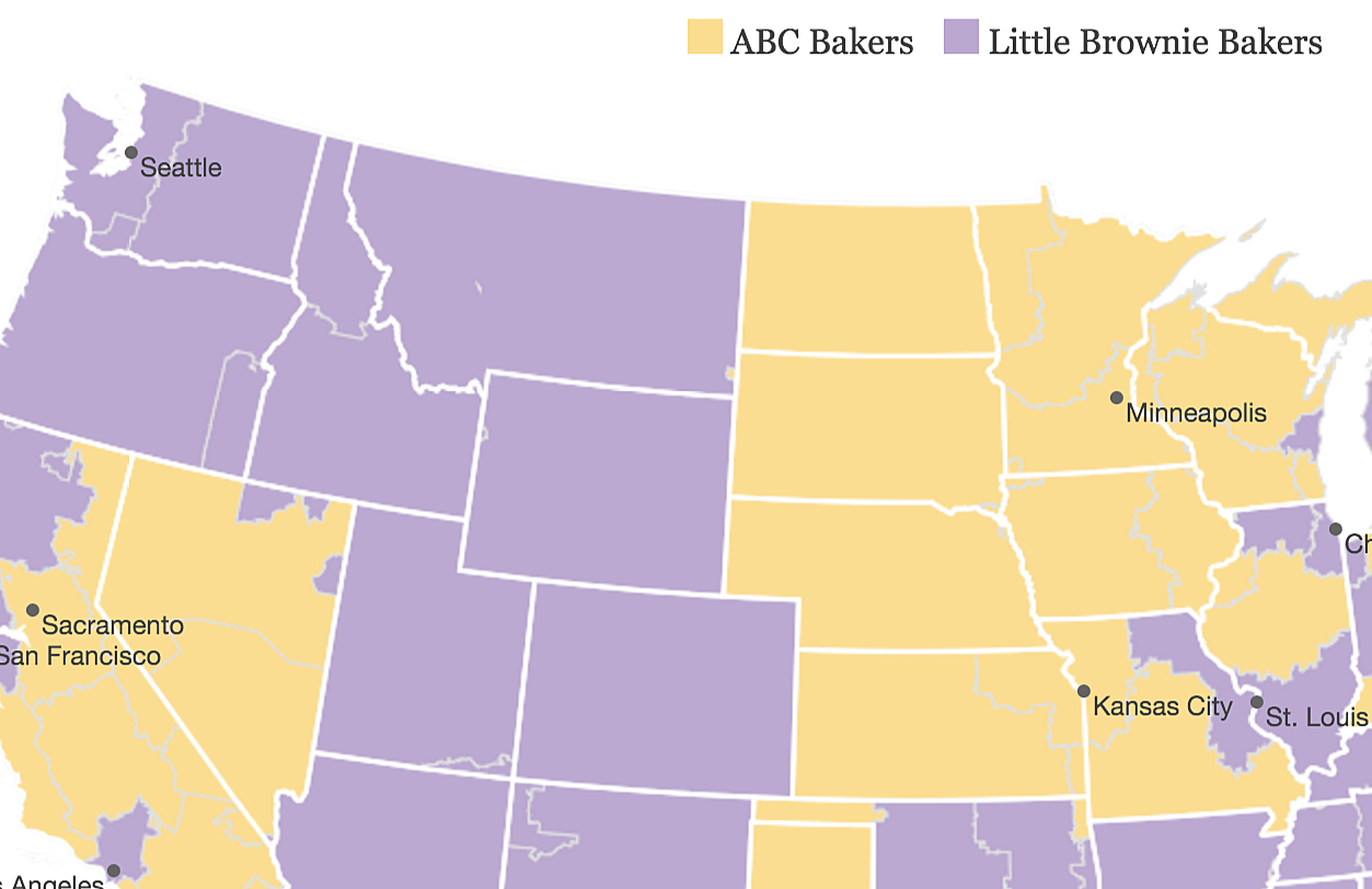 little brownie bakers vs abc