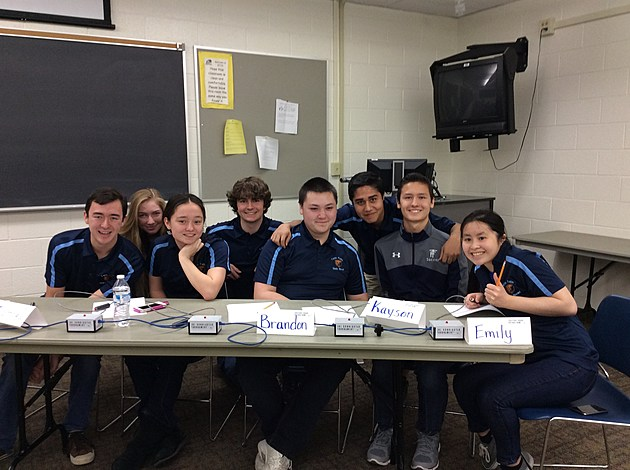 Students from Twin Falls High School will compete in finals at the National Science Bowl in April in Washington, D.C. (Photo courtesy of the Twin Falls School District)