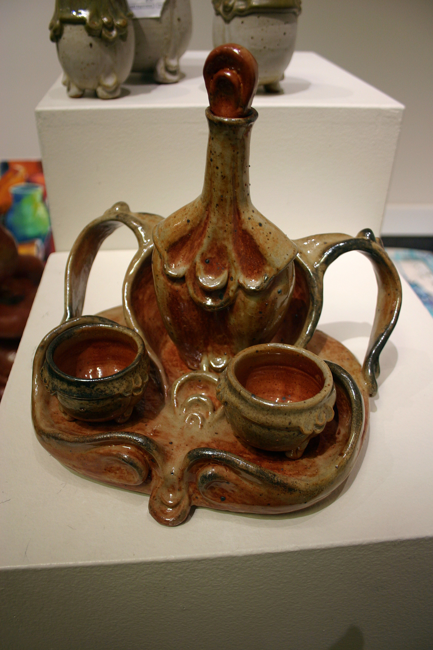 Ceramic piece by Ka Harper, courtesy College of Southern Idaho