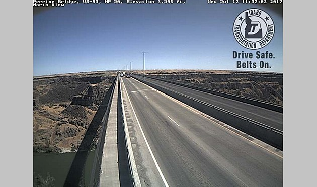 ITD camera on the Perrine Bridge.